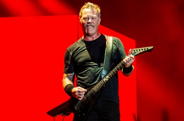 In this Oct. 13, 2018 file photo, James Hetfield of Metallica performs on day two of the Austin City Limits Music Festival's second weekend in Austin, Texas. (Photo by Amy Harris/Invision/AP, File)