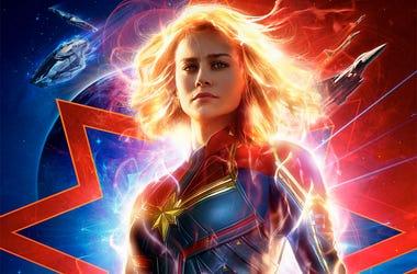 Brie Larson as 'Captain Marvel' (Photo credit: Disney/Marvel Studios)