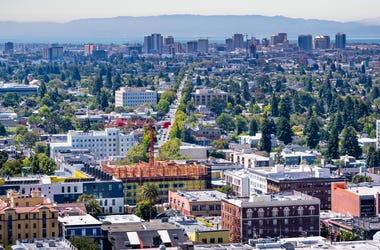 Berkeley and Oakland