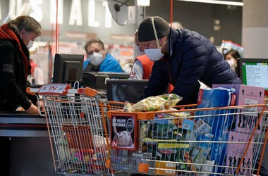 Grocery shopping during Coronavirus pandemic