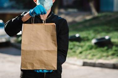 Mask food bag
