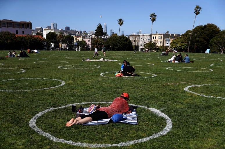 Dolores Park Circles