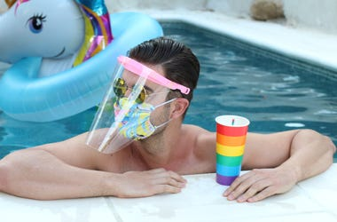 Pool mask