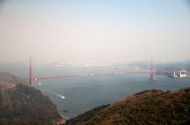 Smoky San Francisco