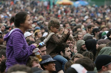 Golden Gate Park crowd