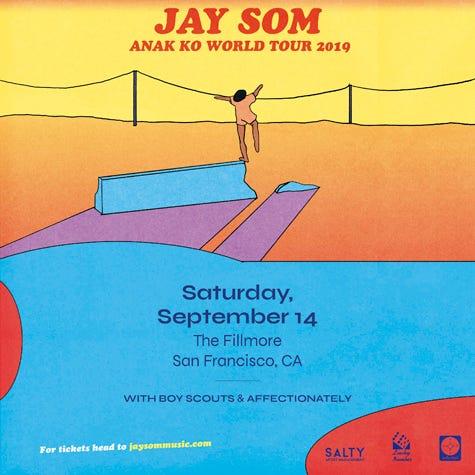 Jay Som at The Fillmore, San Francisco
