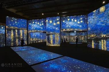 Starry Night installation