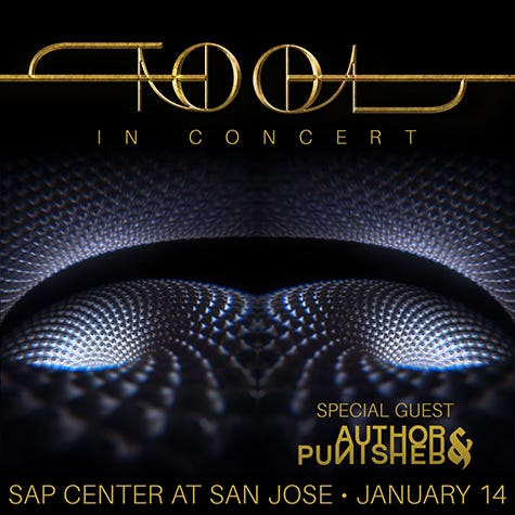TOOL at SAP Center San Jose