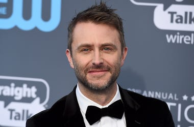 In this Jan. 11, 2018 file photo, Chris Hardwick arrives at the 23rd annual Critics' Choice Awards at the Barker Hangar in Santa Monica, Calif. Hardwick's career is getting back on track after a review of sexual assault allegations made by a former girlfr