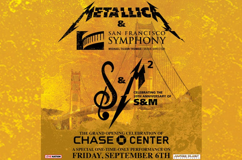 Metallica with the San Francisco Symphony
