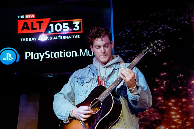 lovelytheband in the Playstation Music Space At ALT 105.3