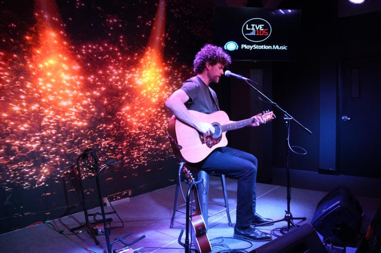 Vance Joy In The PlayStation Music Space