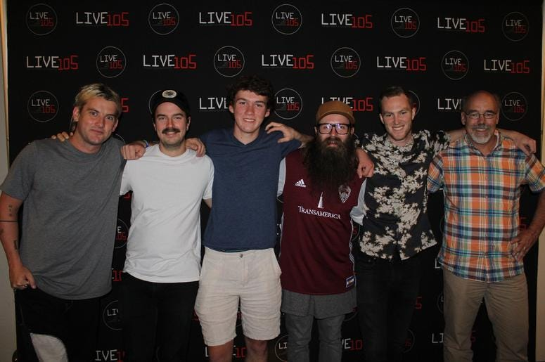 Judah And The Lion Meet-N-Greet In The PlayStation Music Space