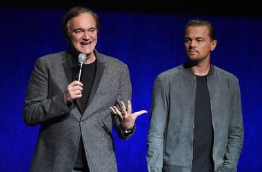 Director Quentin Tarantino and actor Leonardo DiCaprio
