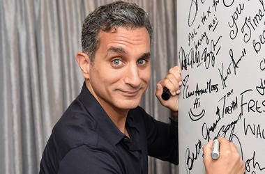 "NEW YORK, NY - JULY 06: Bassem Youssef attends the AOL Build Speaker Series - Bassem Youssef, ""The Democracy Handbook with Bassem Youssef"" at AOL Studios In New York on July 6, 2016 in New York City. (Photo by Jamie McCarthy/Getty Images)"