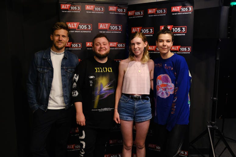 Of Monsters and Men Meet & Greet In The Fremont Bank Lounge