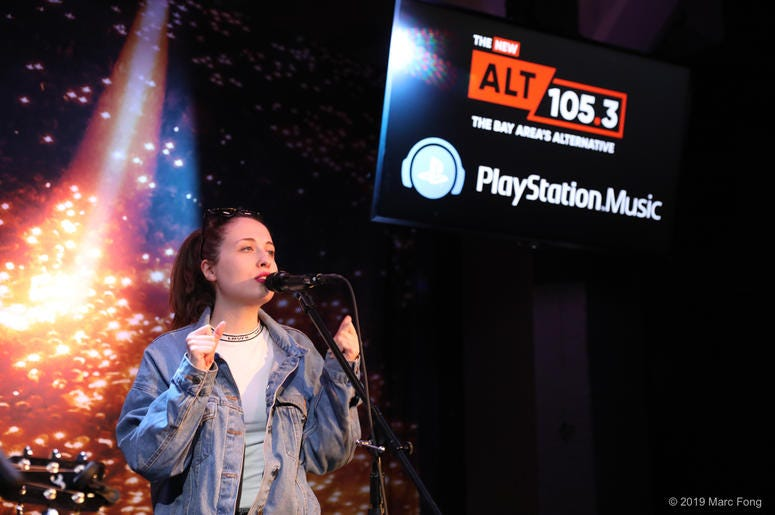 Alice Merton In The PlayStation Music Space
