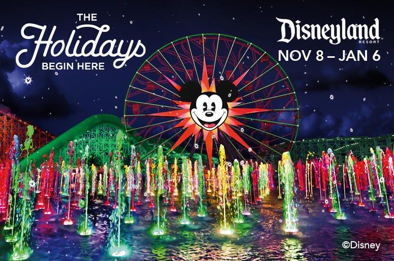 Holidays at The Disneyland Resort®