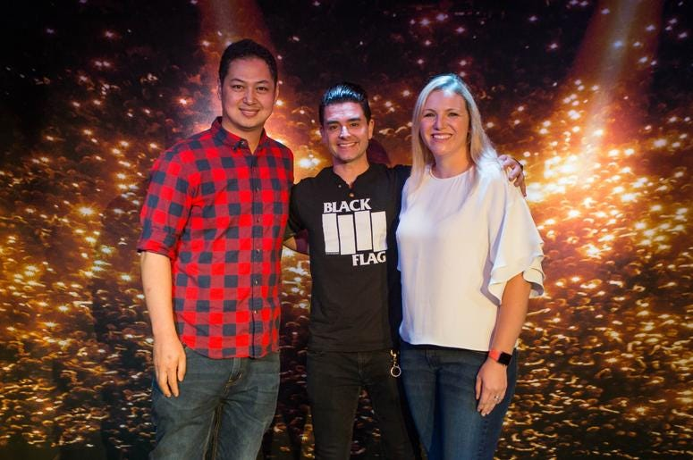 Dashboard Confessional In the PlayStation Music Space