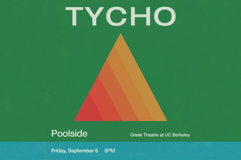 Tycho at The Berkeley Greek Theater