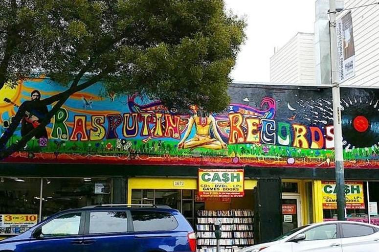 Haight St. Rasputin Location To Be Replaced By Vintage Clothing Store