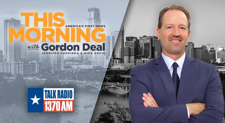 This Morning with Gordon Deal Streaming Radio Online Live Austin Texas