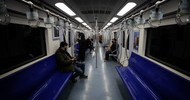 Beijing subway train