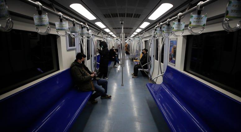 Beijing subway train