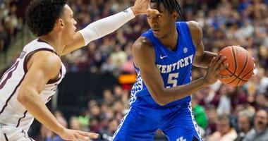 Texas A&M-Kentucky Basketball