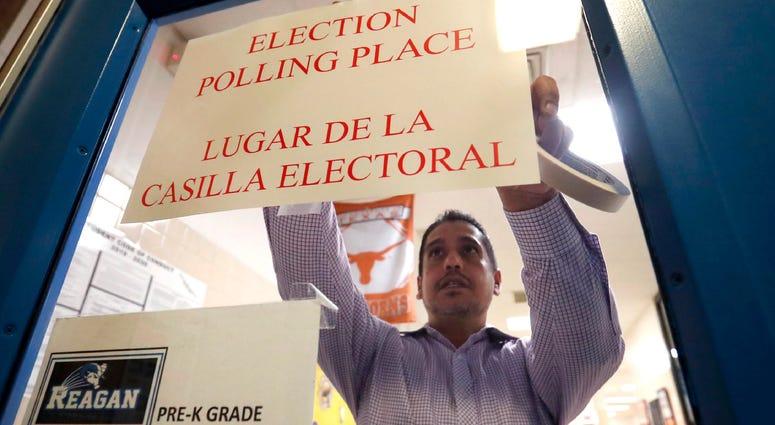 Dallas polling place