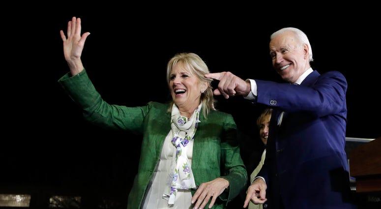 Joe and Jill Biden