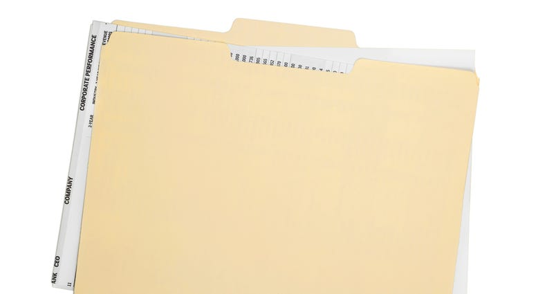 closed file folder