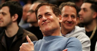 mark cuban courtside