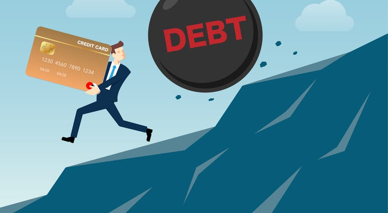 consequences of huge debt