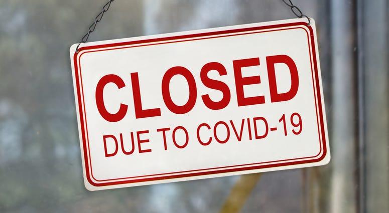 Closed due to COVID-19 coronavirus