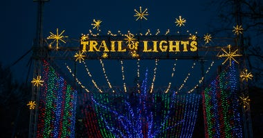 Austin Trail of Lights Zilker Park