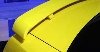 rear deck and spoiler ford mustang