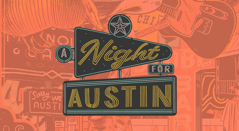 A Night For Austin benefit