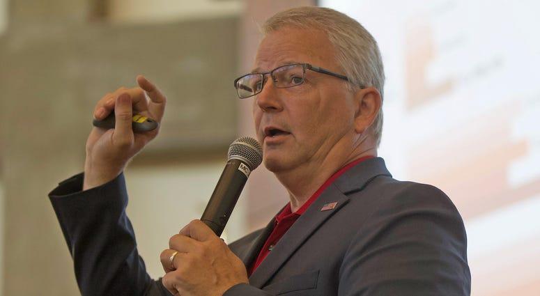 Texas GOP Chairman James Dickey