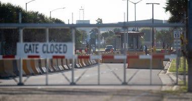 Naval Air Station Corpus Christi north gate
