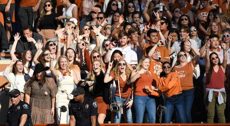 Longhorns Football Fans