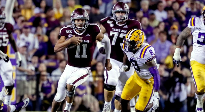 Texas A&M at LSU 2019
