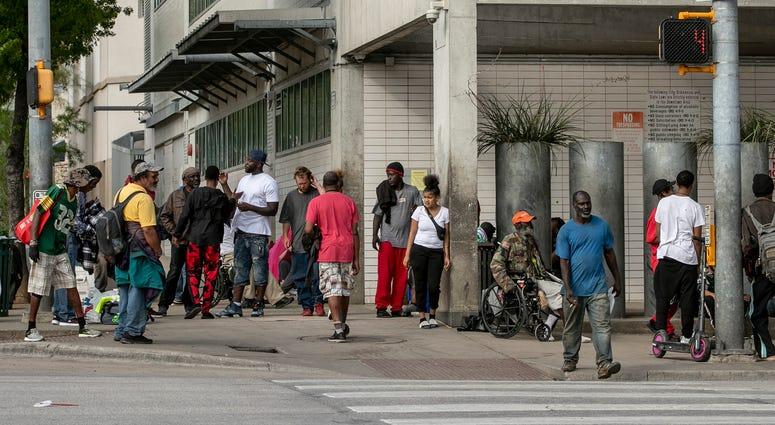 Austin homeless