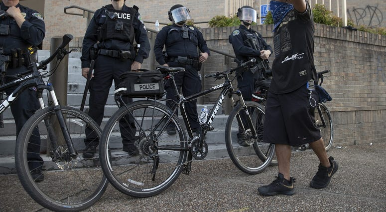 Austin Police bicycles