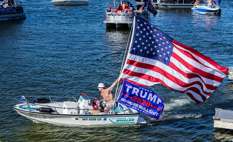 Lake Travis Boat Parade Set To Support President Trump Talk 1370am