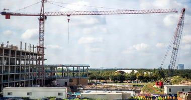 East Austin crane collision
