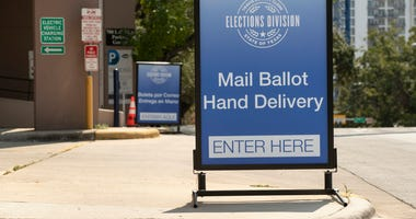 Travis County Ballot Drive-thru Drop Off Site