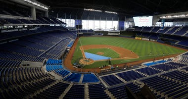 LEADING OFF: Marlins home at last, Cole seeks 20th straight