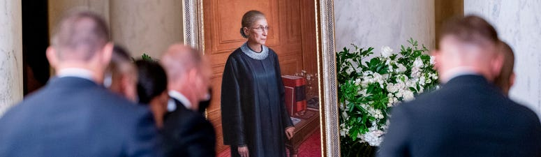 Ginsburg's empathy born of Jewish history and discrimination