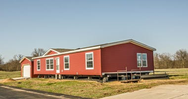 manufactured home on land